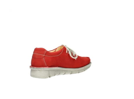 wolky veterschoenen 01625 dutch 10570 rood nubuck_10