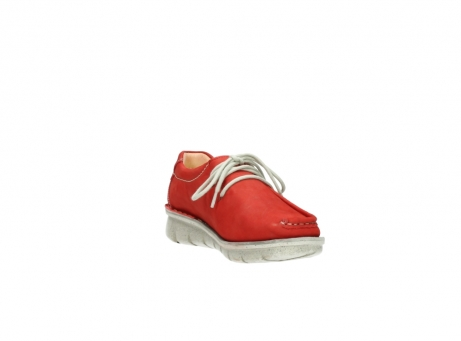 wolky veterschoenen 01625 dutch 10570 rood nubuck_17