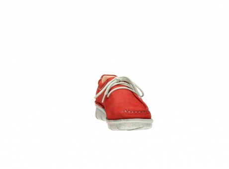 wolky veterschoenen 01625 dutch 10570 rood nubuck_18