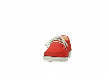 wolky veterschoenen 01625 dutch 10570 rood nubuck_20