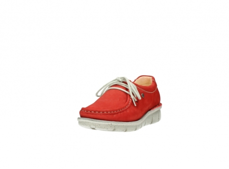 wolky veterschoenen 01625 dutch 10570 rood nubuck_21