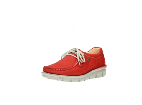 wolky veterschoenen 01625 dutch 10570 rood nubuck_22