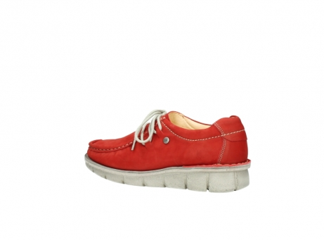 wolky veterschoenen 01625 dutch 10570 rood nubuck_3