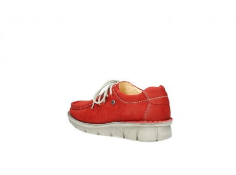 wolky veterschoenen 01625 dutch 10570 rood nubuck_4
