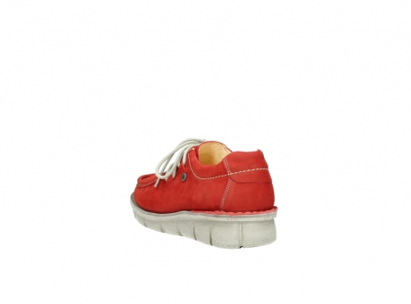 wolky veterschoenen 01625 dutch 10570 rood nubuck_5