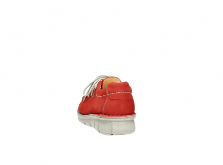 wolky veterschoenen 01625 dutch 10570 rood nubuck_6