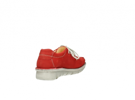 wolky veterschoenen 01625 dutch 10570 rood nubuck_9