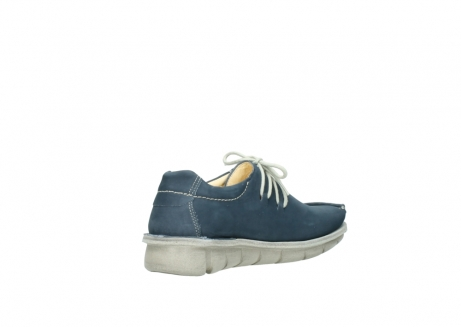 wolky lace up shoes 01625 dutch 10870 blue nubuck_10