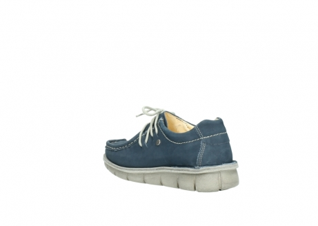 wolky lace up shoes 01625 dutch 10870 blue nubuck_4