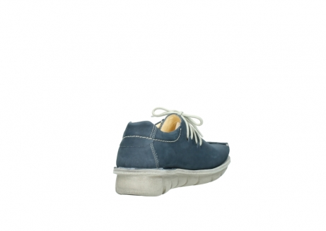 wolky lace up shoes 01625 dutch 10870 blue nubuck_9