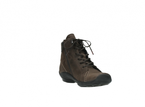 wolky lace up shoes 01685 naomi 50300 brown oiled leather_17