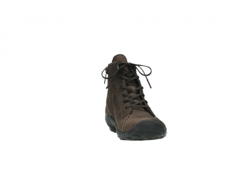 wolky lace up shoes 01685 naomi 50300 brown oiled leather_18