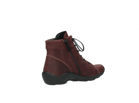 wolky chaussures a lacets 01685 naomi 50510 cuir bordeaux_10
