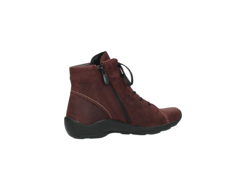 wolky chaussures a lacets 01685 naomi 50510 cuir bordeaux_11
