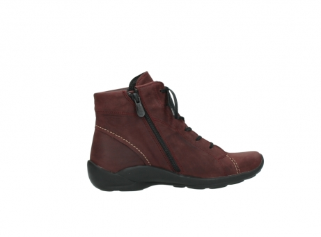 wolky chaussures a lacets 01685 naomi 50510 cuir bordeaux_12