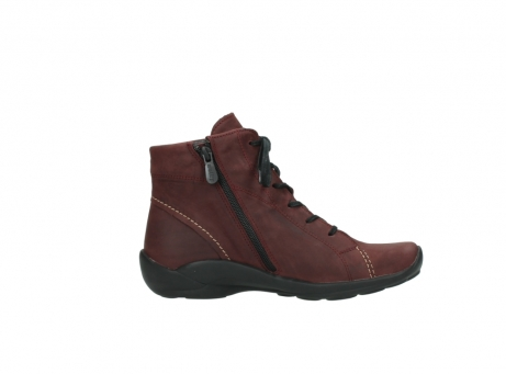 wolky chaussures a lacets 01685 naomi 50510 cuir bordeaux_13