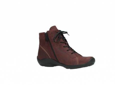 wolky chaussures a lacets 01685 naomi 50510 cuir bordeaux_15