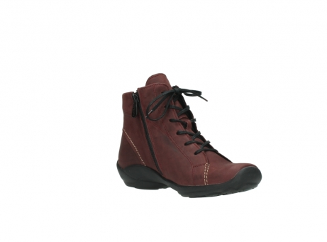 wolky chaussures a lacets 01685 naomi 50510 cuir bordeaux_16