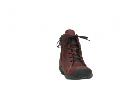 wolky chaussures a lacets 01685 naomi 50510 cuir bordeaux_18