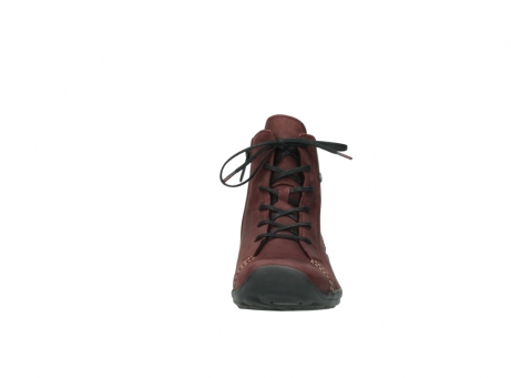 wolky chaussures a lacets 01685 naomi 50510 cuir bordeaux_19