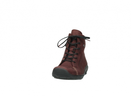 wolky chaussures a lacets 01685 naomi 50510 cuir bordeaux_20