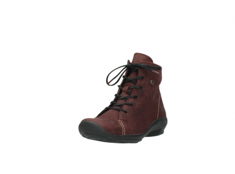 wolky chaussures a lacets 01685 naomi 50510 cuir bordeaux_21