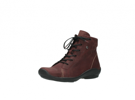 wolky chaussures a lacets 01685 naomi 50510 cuir bordeaux_22