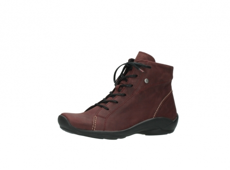 wolky chaussures a lacets 01685 naomi 50510 cuir bordeaux_23