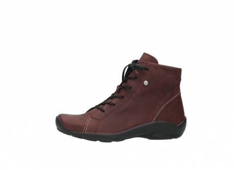 wolky chaussures a lacets 01685 naomi 50510 cuir bordeaux_24
