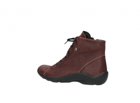 wolky chaussures a lacets 01685 naomi 50510 cuir bordeaux_3