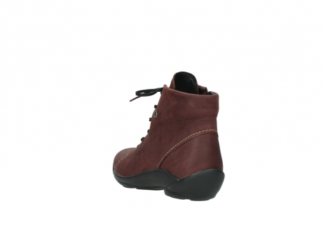 wolky chaussures a lacets 01685 naomi 50510 cuir bordeaux_5