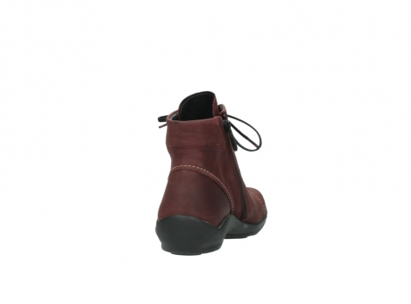 wolky chaussures a lacets 01685 naomi 50510 cuir bordeaux_8