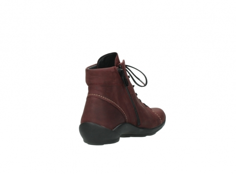 wolky chaussures a lacets 01685 naomi 50510 cuir bordeaux_9