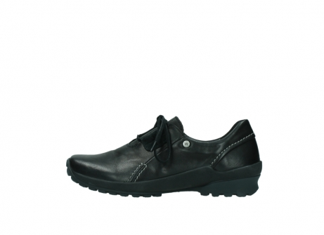 wolky lace up shoes 01739 yellowstone 20000 black leather_1