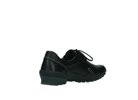 wolky lace up shoes 01739 yellowstone 20000 black leather_10