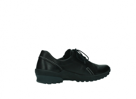 wolky lace up shoes 01739 yellowstone 20000 black leather_11