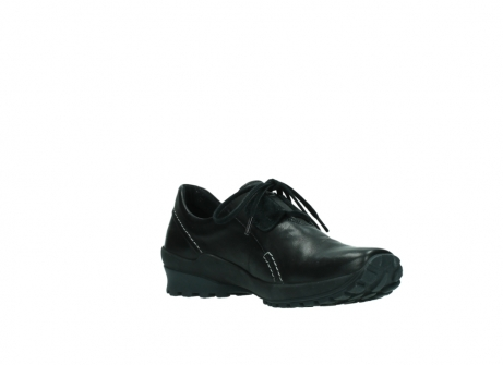 wolky lace up shoes 01739 yellowstone 20000 black leather_16