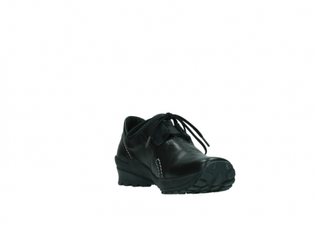 wolky lace up shoes 01739 yellowstone 20000 black leather_17