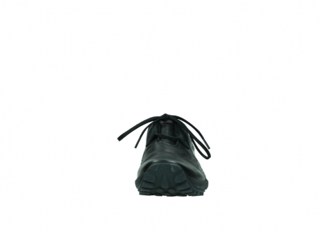 wolky lace up shoes 01739 yellowstone 20000 black leather_19
