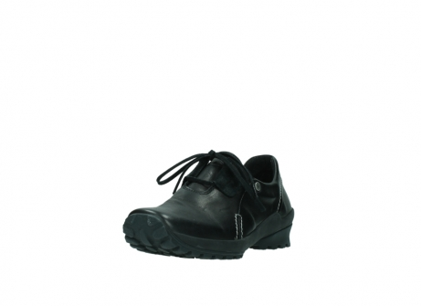 wolky lace up shoes 01739 yellowstone 20000 black leather_21