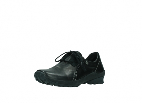 wolky lace up shoes 01739 yellowstone 20000 black leather_22
