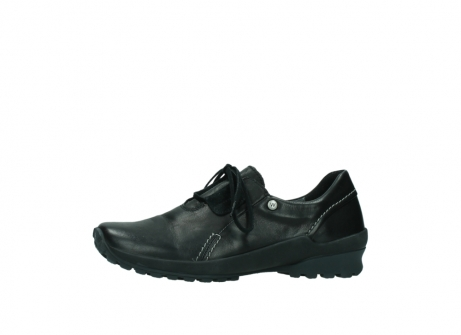 wolky lace up shoes 01739 yellowstone 20000 black leather_24