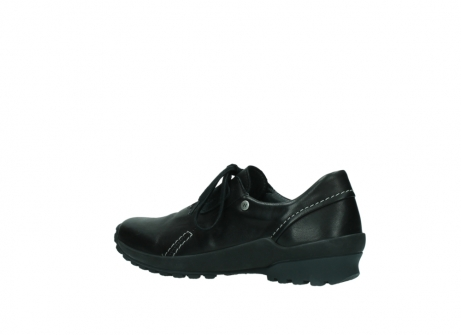 wolky lace up shoes 01739 yellowstone 20000 black leather_3