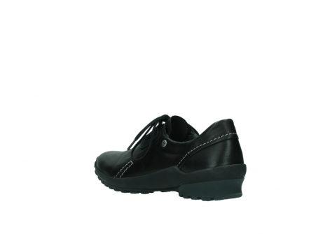 wolky lace up shoes 01739 yellowstone 20000 black leather_4