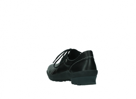 wolky lace up shoes 01739 yellowstone 20000 black leather_5