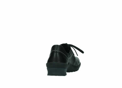 wolky lace up shoes 01739 yellowstone 20000 black leather_8