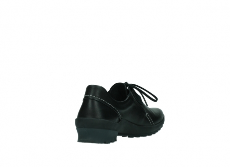 wolky lace up shoes 01739 yellowstone 20000 black leather_9