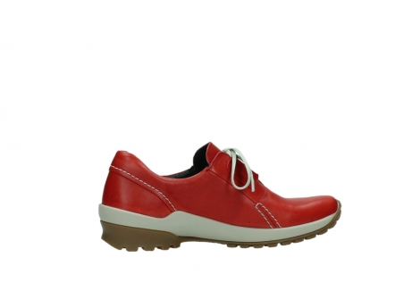 wolky lace up shoes 01739 yellowstone 20500 red leather_12