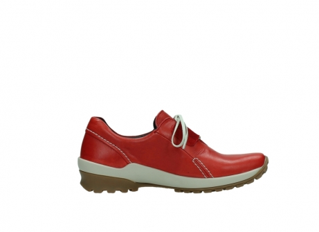 wolky lace up shoes 01739 yellowstone 20500 red leather_13