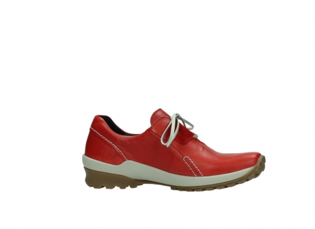 wolky lace up shoes 01739 yellowstone 20500 red leather_14